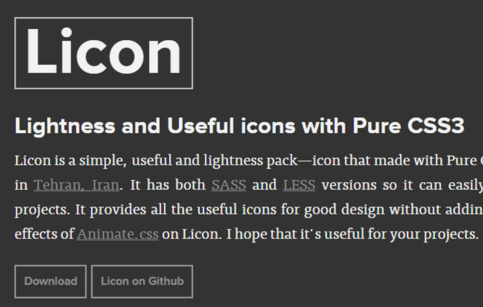 Licon icon pack