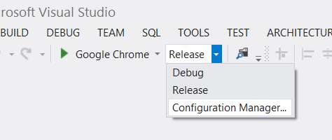 """Visual Studio Configuration Manager"""